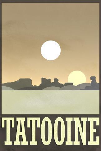 Tatooine Travel Poster Otro