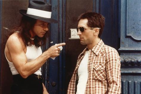 Taxi Driver, Harvey Keitel, Robert De Niro, Directed by Martin Scorsese, 1976 Photo