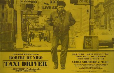 Taxi Driver, in inglese Stampa master