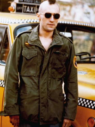Taxi Driver, Robert De Niro, 1976 Photo