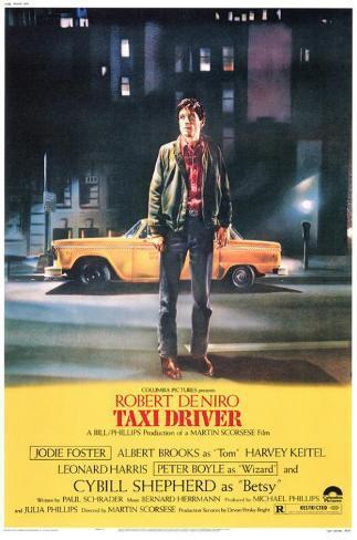 Taxi Driver Impressão original