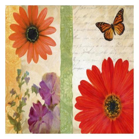 Floral Rhapsody I Art Print