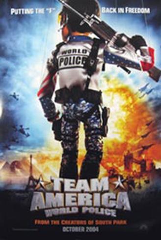 Team America Original Poster
