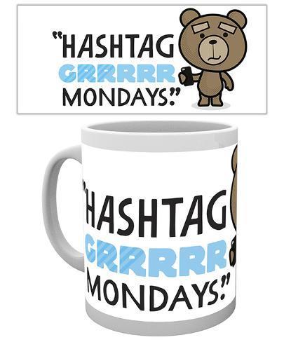 Ted 2 Mondays Mug Tazza