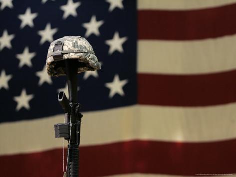 Iraq Soldier's Memorial, Fort Lewis, Washington, c.2007 Photographic Print