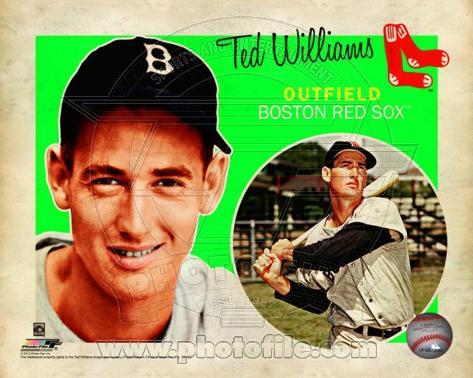 Ted Williams 2012 Studio Plus Photo