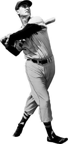 Ted Williams (Batting) Boston Red Sox Lifesize Standup Cardboard Cutouts