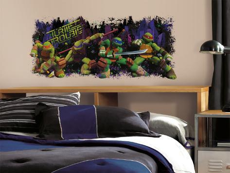 Teenage Mutant Ninja Turtle Trouble Graphix Peel & Stick Wall Decals Wall Decal