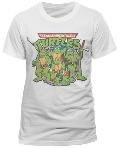 Teenage Mutant Ninja Turtles - 80's Toon Group T-Shirt