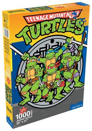 Teenage Mutant Ninja Turtles Group 1000 Piece Puzzle ...