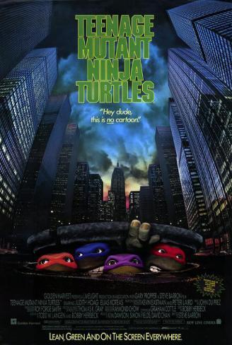 Teenage Mutant Ninja Turtles: The Movie Masterprint