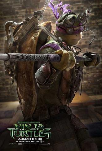 Teenage Mutant Ninja Turtles Masterprint