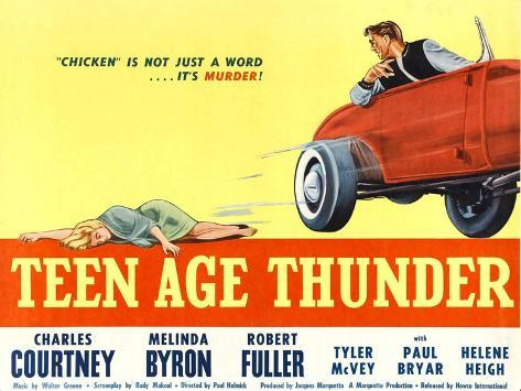 Teenage Thunder, 1957 Art Print