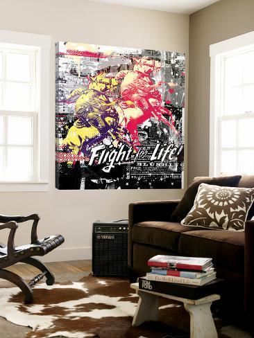 Flight for Life Loft Art