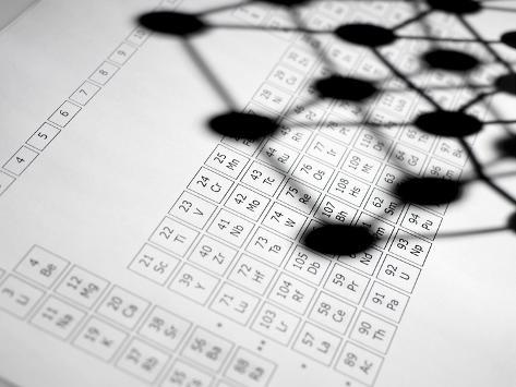 Periodic Table Photographic Print