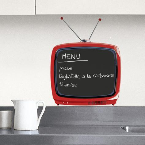 Television (Water Resistant Decal) Wall Decal