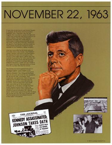 Ten Days That Shook the Nation - JFK assassination Art Print
