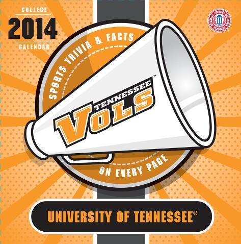 Tennessee Volunteers - 2014 Box Calendar Calendars