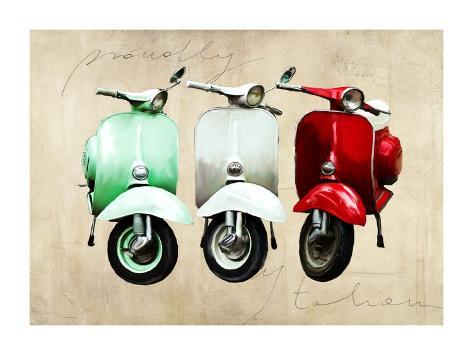 Proudly italian Art Print