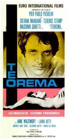 Teorema - Italian Style Poster