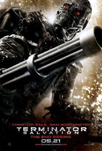 Termination Salvation -X Double-sided poster