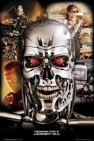 Terminator 2 - Collage Poster