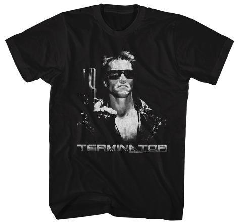 Terminator- Grey Scale T800 T-Shirt