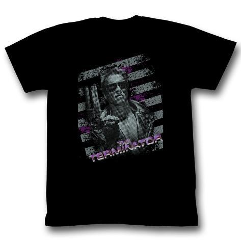 Terminator - Purple T-Shirt