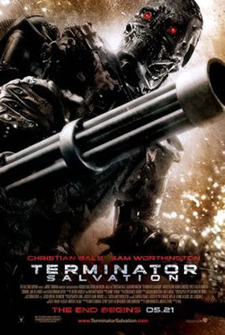 Terminator Salvation Double-sided poster