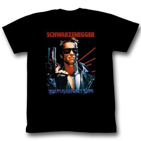 Terminator - Schwarz T-Shirt