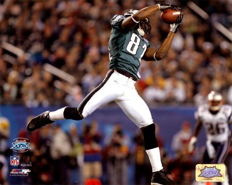 Terrell Owens - Super Bowl XXXIX - Makes The Reception For A 30 Yard Completion Photo