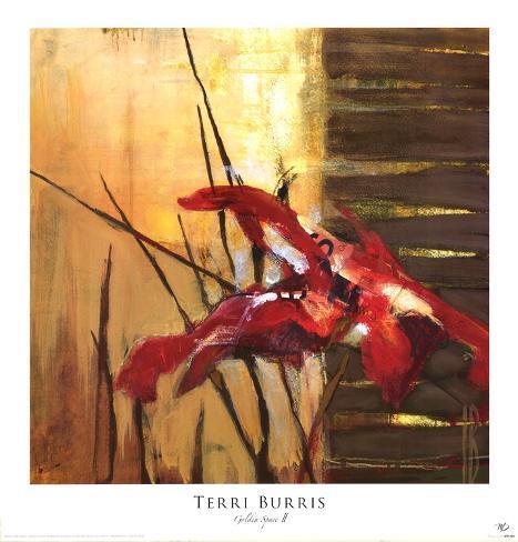 Golden Space II Art Print
