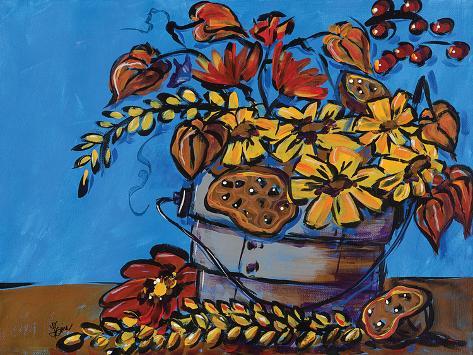 Fall Flowers Stampa artistica