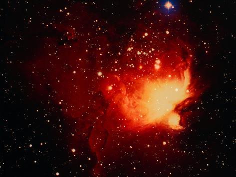 Stars and Nebula Photographic Print