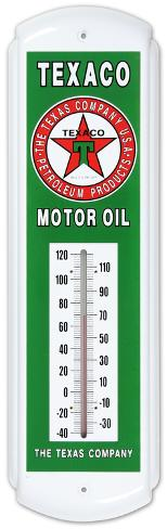 Texaco motor oil indoor outdoor weather thermometer for 99 cent store motor oil