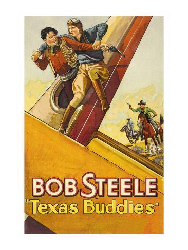Texas Buddies Art Print
