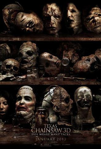 Texas Chainsaw 3D Movie Poster Masterprint