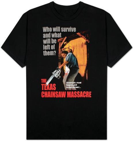 Texas Chainsaw Massacre - Bizarre & Brutal Crimes! T-Shirt