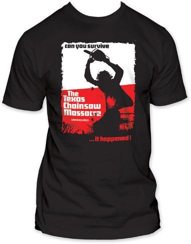 Texas Chainsaw Massacre - Can You Survive T-Shirt