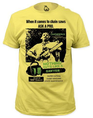 Texas Chainsaw Massacre - Cuts Like a Sawyer (slim fit) Camiseta