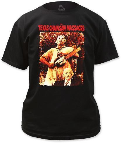 Texas chainsaw massacre leatherface grandpa t shirt for Texas tee shirt company