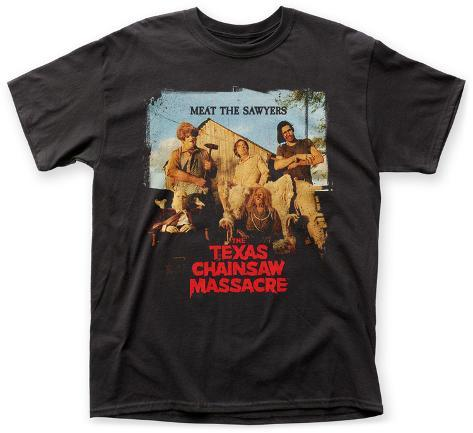 Texas Chainsaw Massacre- Meat The Sawyers T-Shirt