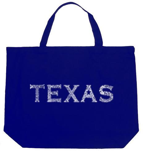 Texas Cities Tote Bag