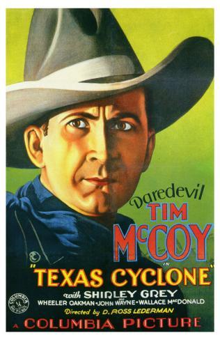 Texas Cyclone, 1932 Masterprint