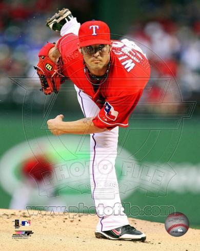 Texas Rangers - C.J. Wilson Photo Photo
