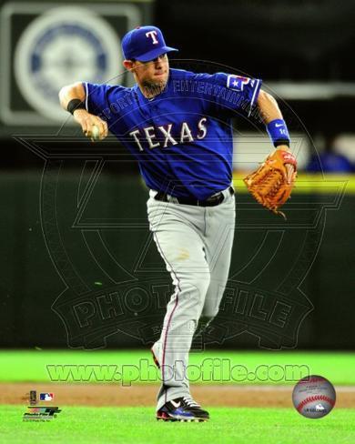 Texas Rangers - Michael Young Photo Photo