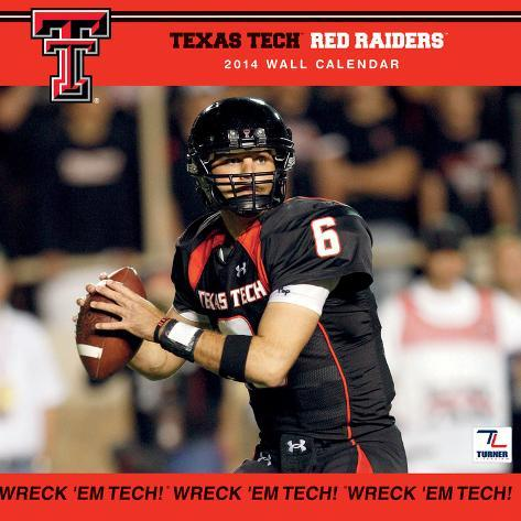 Texas Tech Red Raiders - 2014 Calendar Calendars