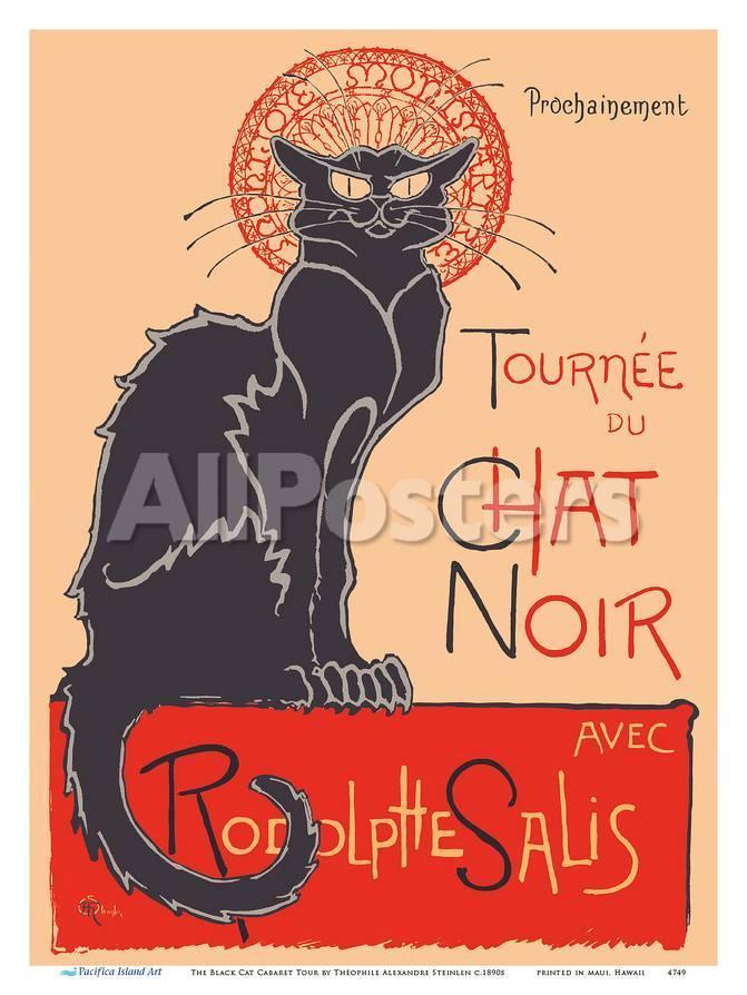 The Black Cat Cabaret Tour (Tourn?du Chat Noir) - with Rodolphe ...