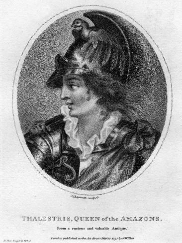 Thalestris, Mythical Queen of the Amazons, 1797 Stampa giclée