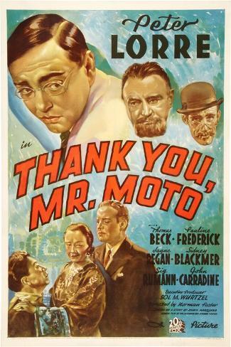 Thank You, Mr. Moto Impressão artística